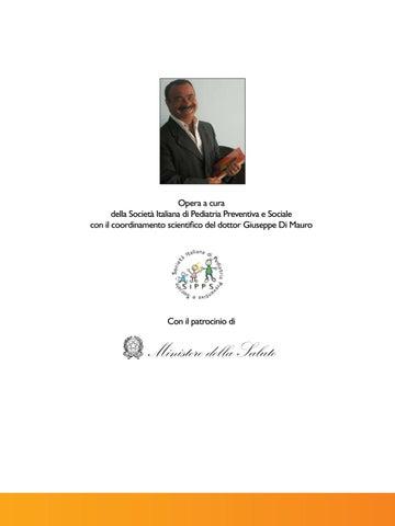 Opera a cura della SocietĂ Italiana di Pediatria Preventiva e Sociale con  il coordinamento scientifico del dottor Giuseppe Di Mauro ae29bcc12507