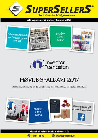 add2ba19474 Supersellers Katalog 2017 by Inventar Tænastan - issuu