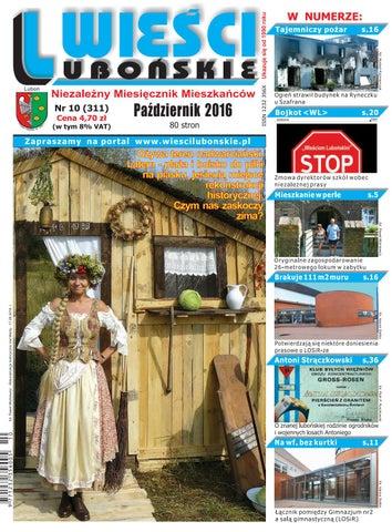 dff544365d10d5 Wieści Lubońskie 2016/10 by WiesciLubonskie - issuu