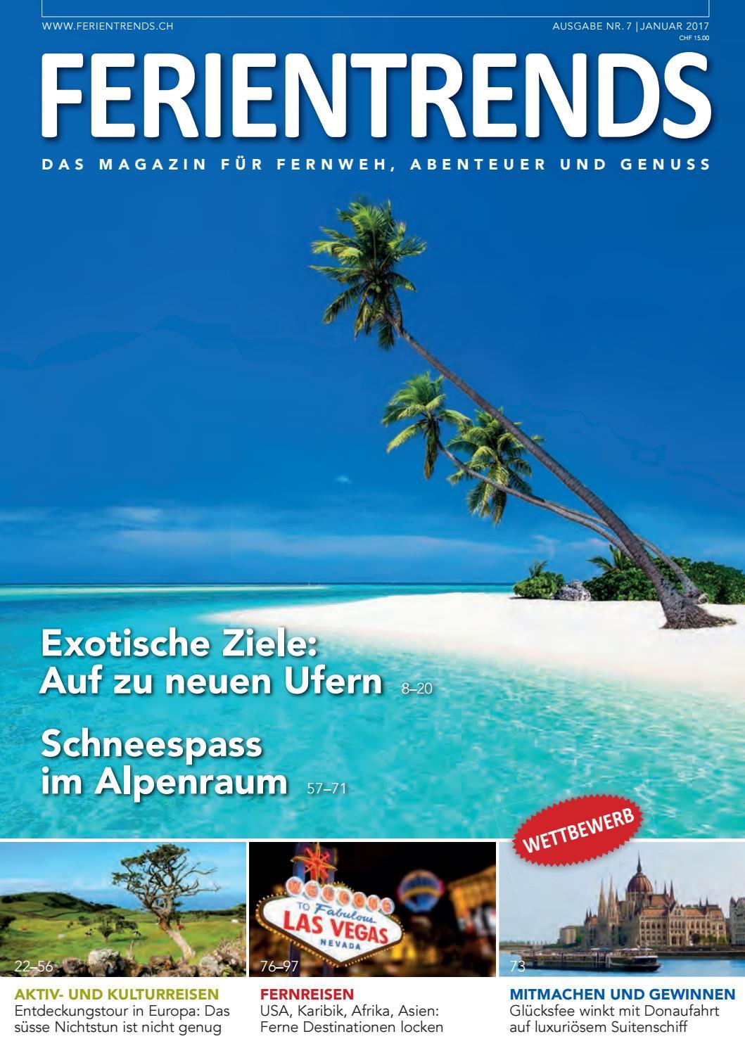 Ferientrends januar 2017 low by Tourismus Lifestyle Verlag - issuu