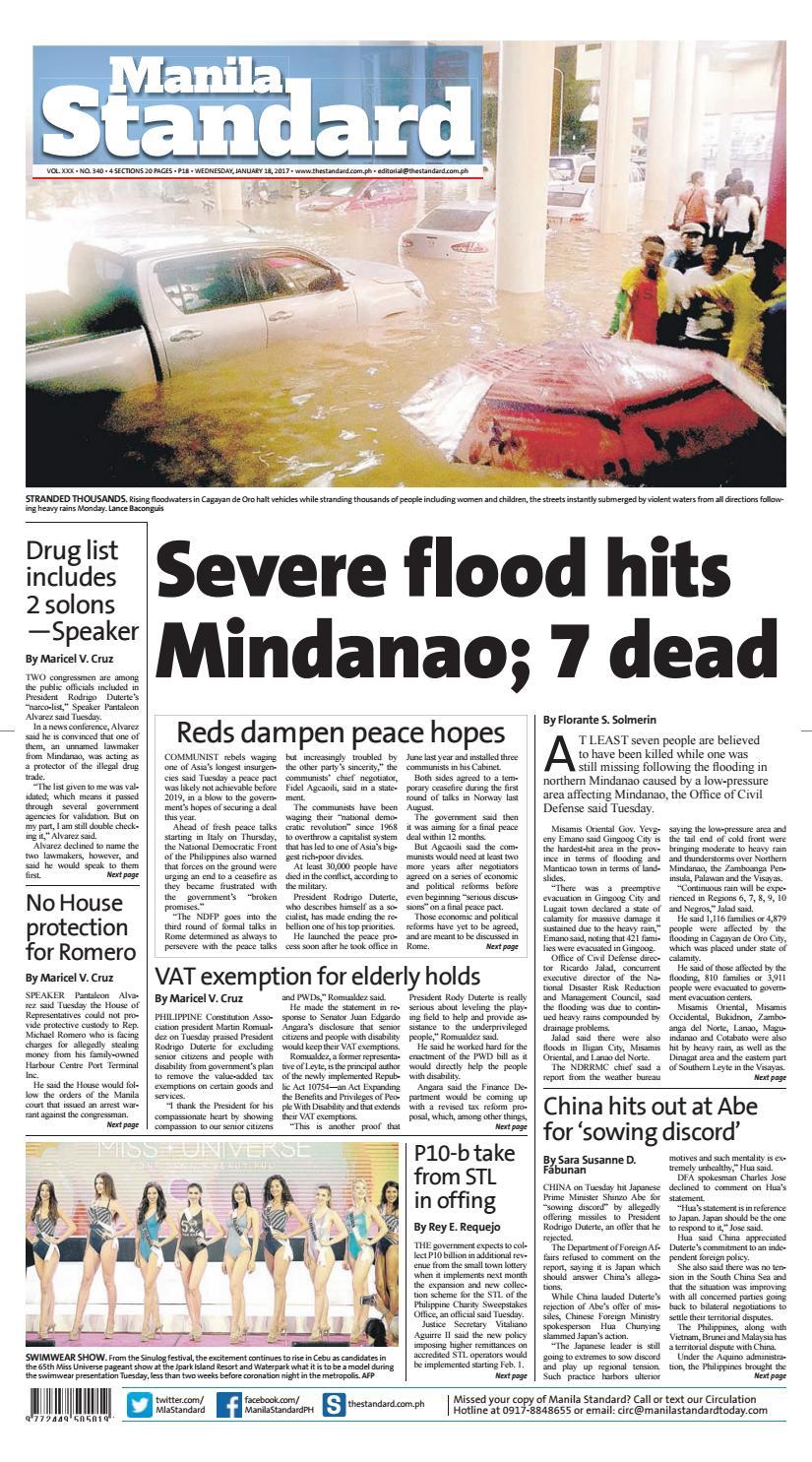 a17ea6c6520f34 Manila Standard - 2017 January 18 - Wednesday by Manila Standard - issuu