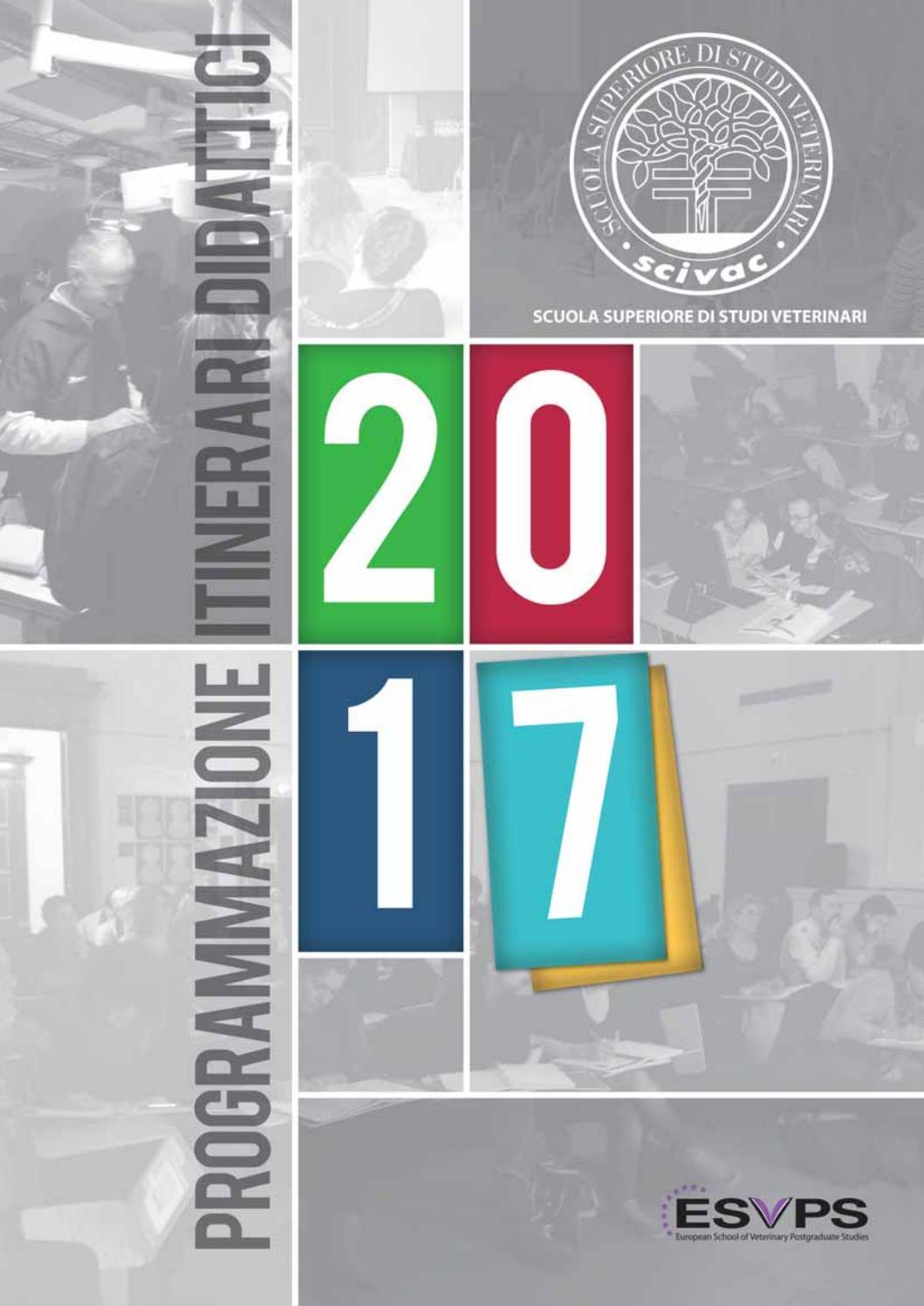Programmazione Itinerari Didattici SCIVAC 2017 by E.V. Soc. Cons. a r.l. -  issuu a46e00724fd