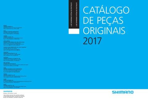 Catálogo Shimano 2017 by Shimano Brasil - issuu 711b3c9a7a
