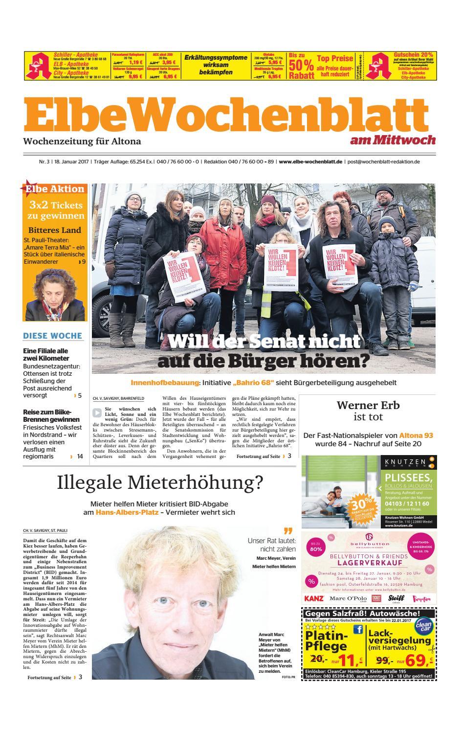 Altona KW03 2017 By Elbe Wochenblatt Verlagsgesellschaft MbH & Co KG