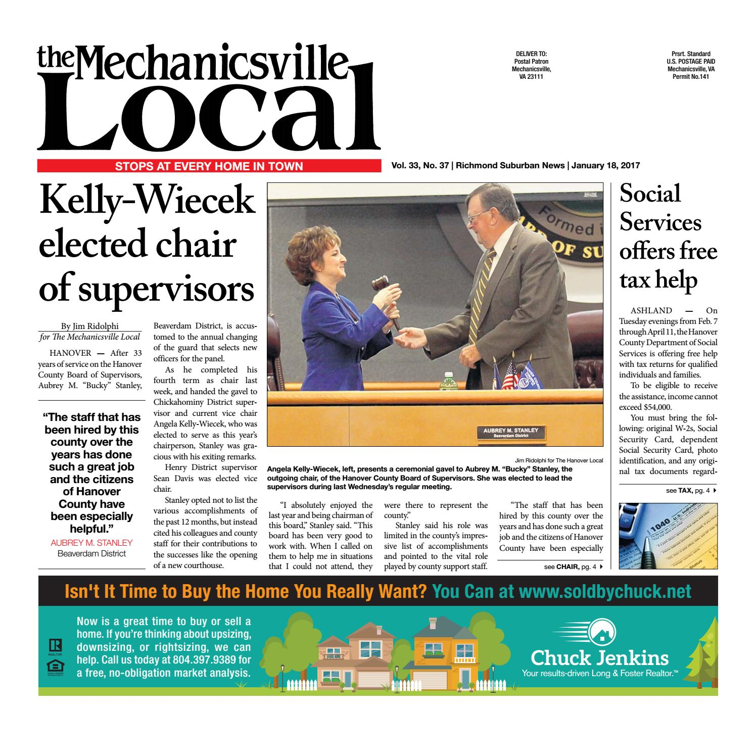 01/18/17 by The Mechanicsville Local - issuu