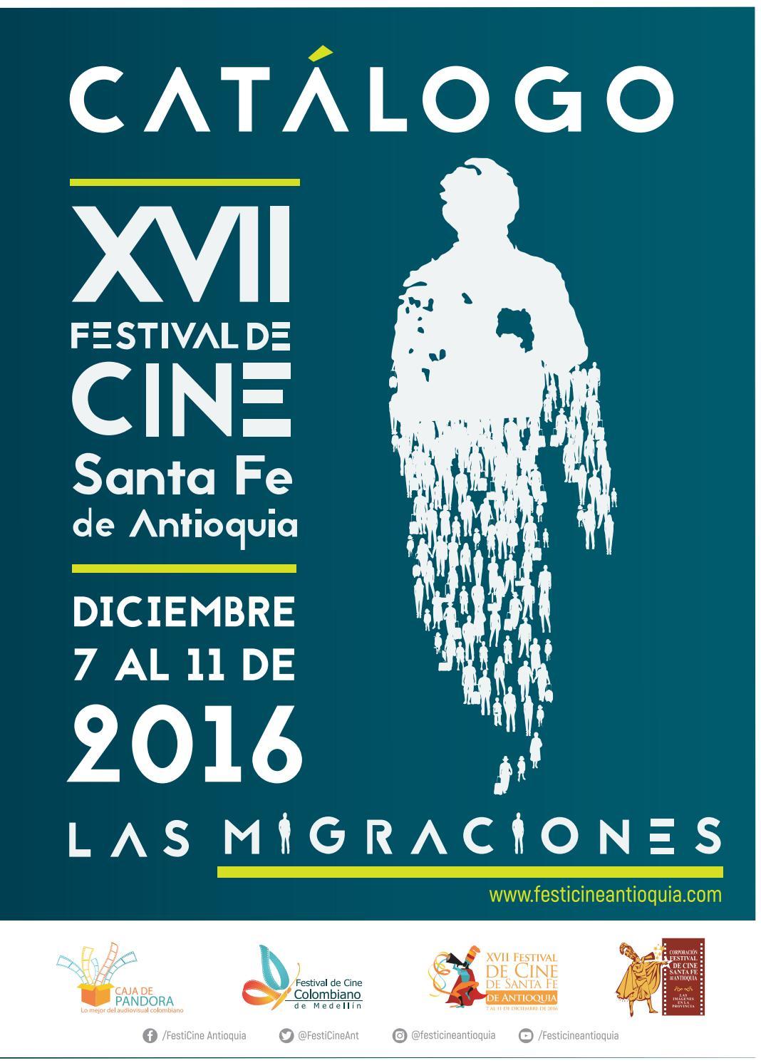Cat Logo Xvii Festival De Cine De Santa Fe De Antioquia Las  # Hassan Muebles Gavilan