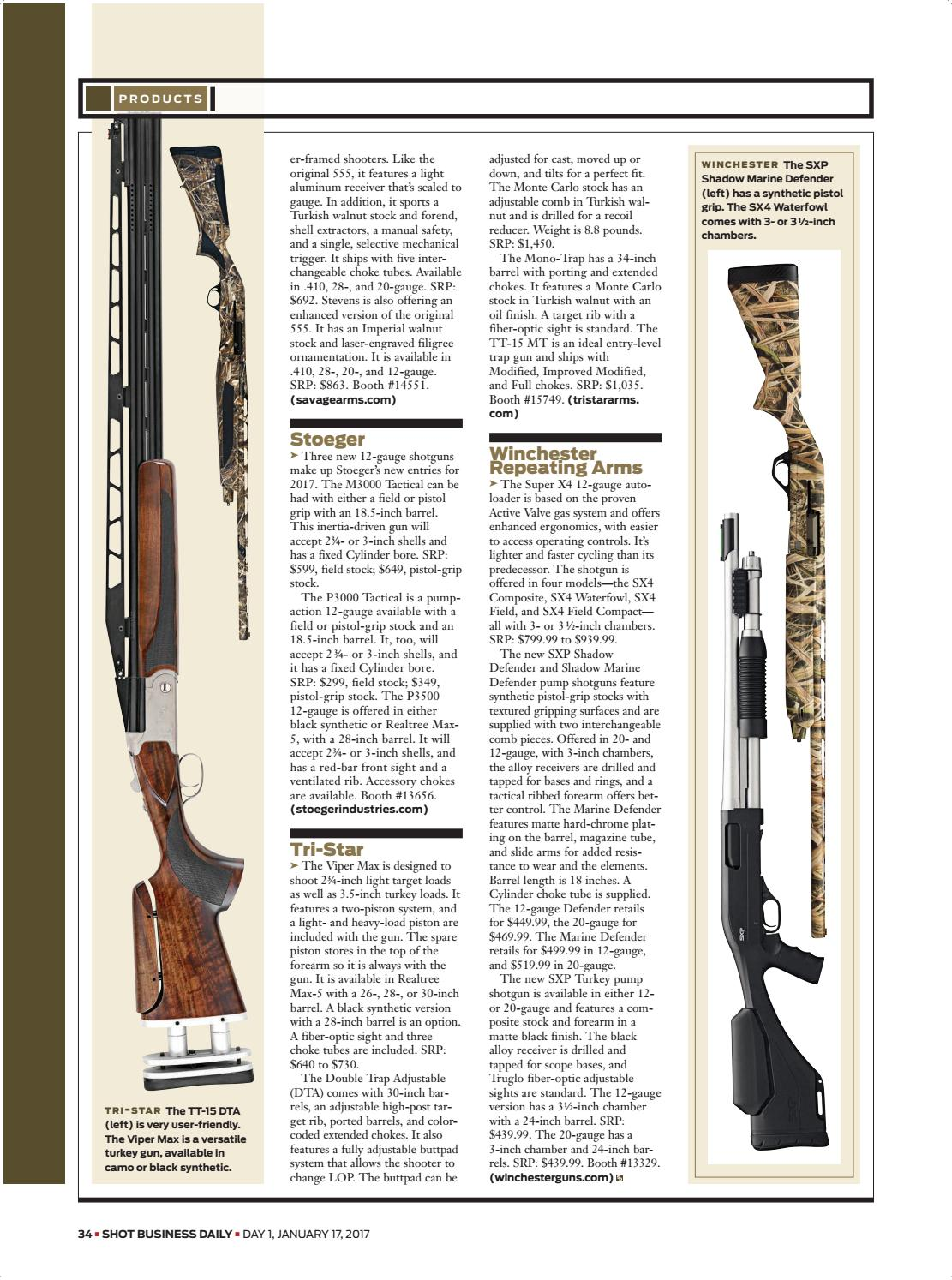 SHOT Daily — Day 1 — 2017 SHOT Show by SHOT Business - issuu