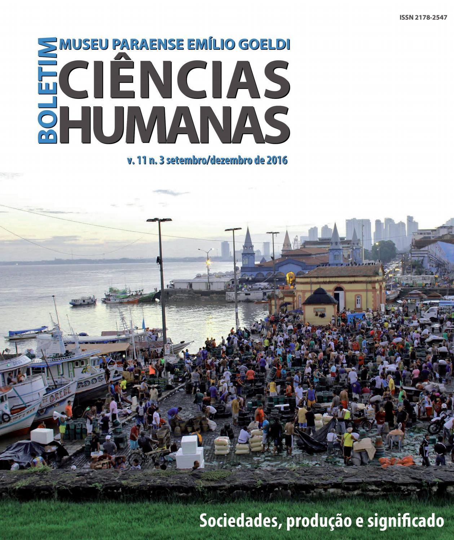 BGOELDI. Humanas v11n3 by Boletim do Museu Paraense Emílio Goeldi. Ciências  Humanas - issuu 8b68092e7663c