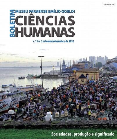 5e8104356e402 BGOELDI. Humanas v11n3 by Boletim do Museu Paraense Emílio Goeldi ...