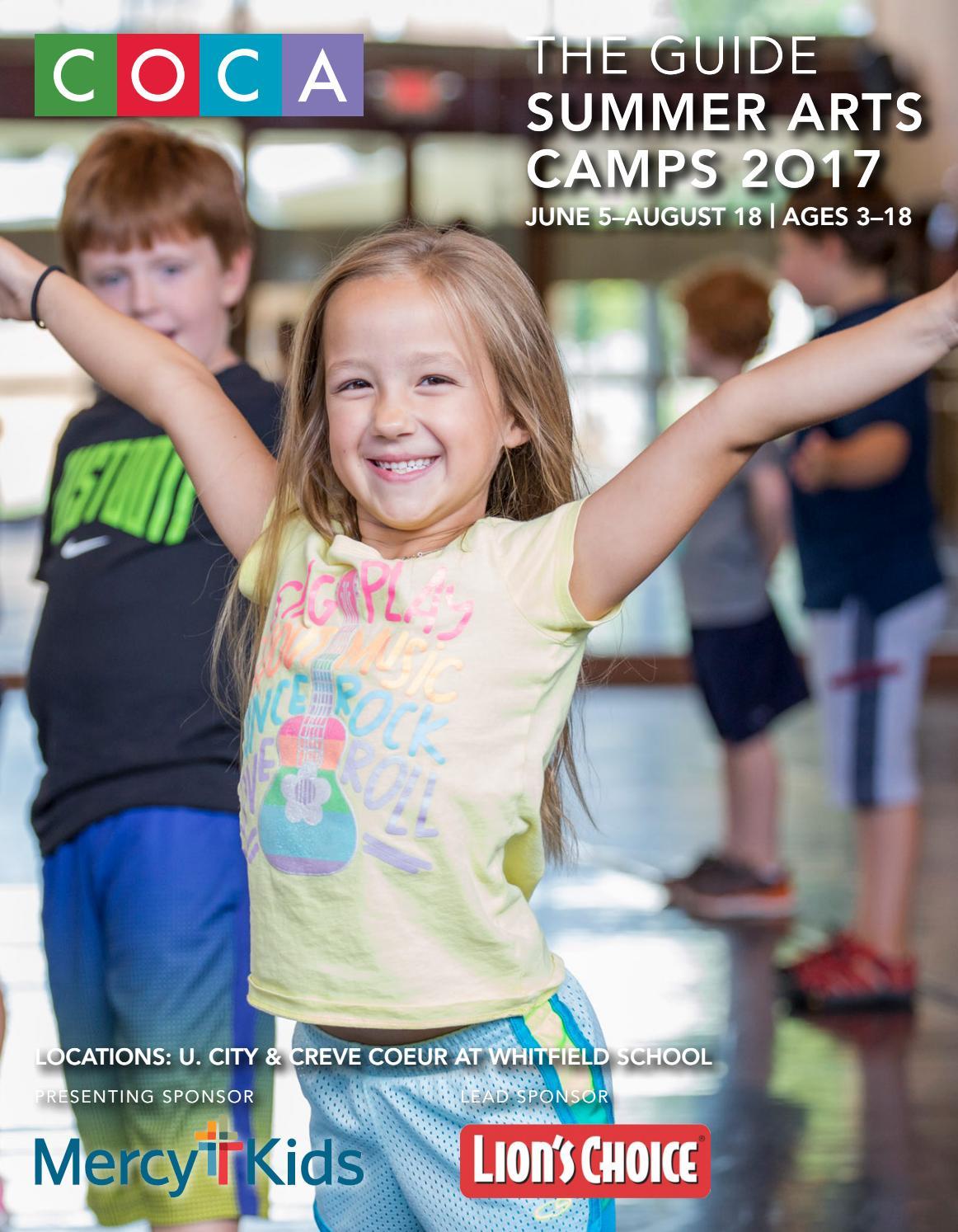 e3341a086c1 2017 COCA Summer Camp Guide by COCA - issuu