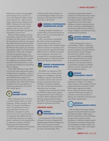 Pathfinder Magazine  Vol  No  By National Geospatial - Dma map us 2016