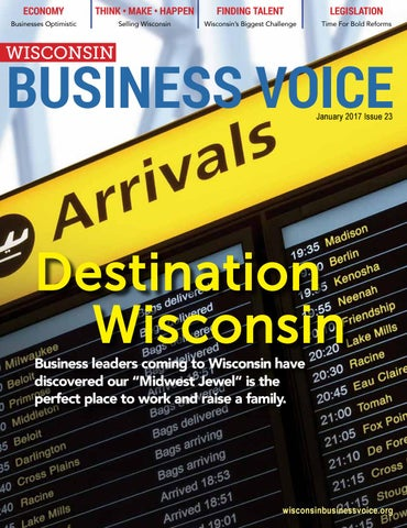 Wisconsin Business Voice Jan 2017 By Wisconsin
