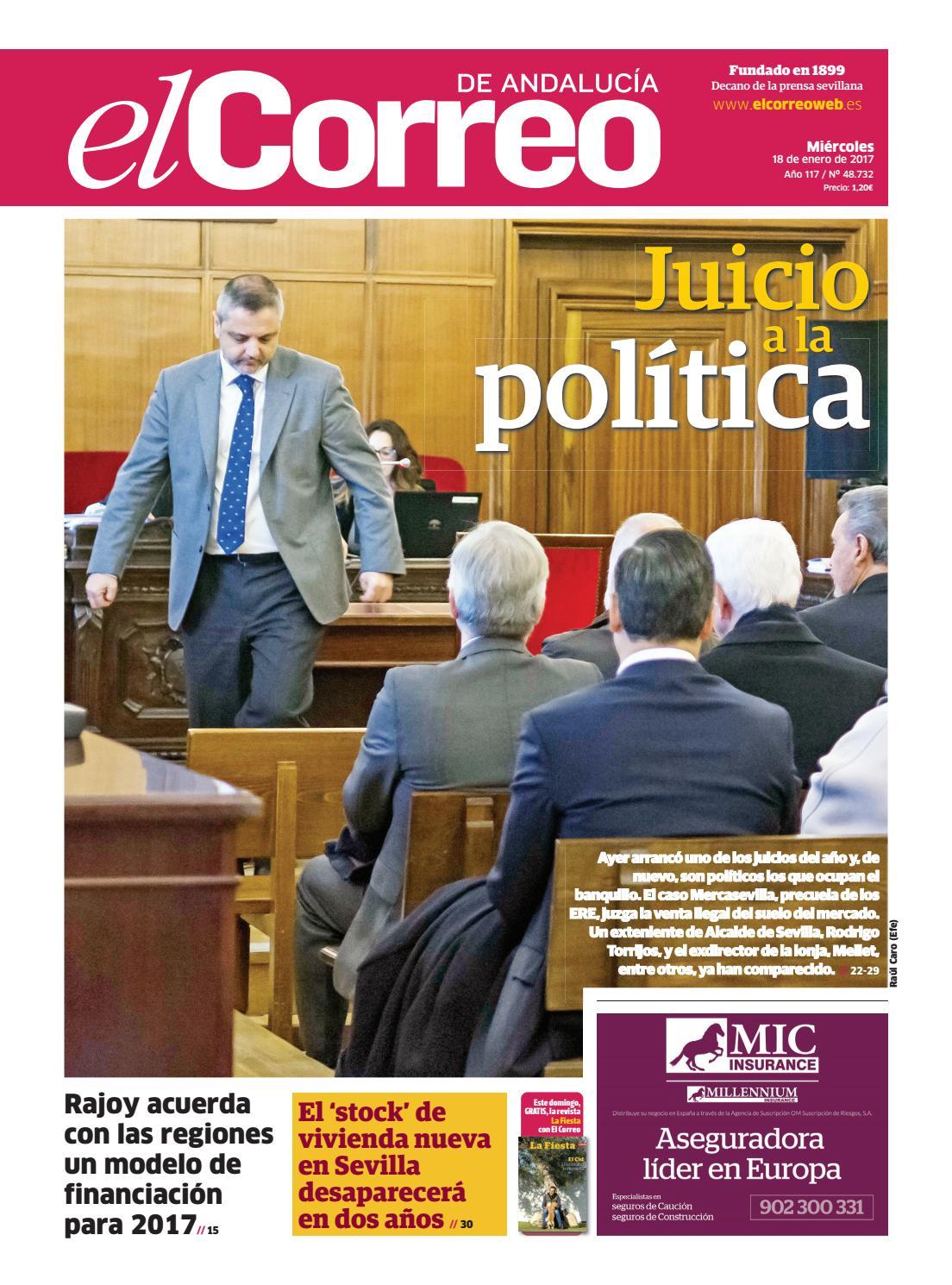 12af73c48323 18 01 2017 El Correo de Andalucía by EL CORREO DE ANDALUCÍA S.L. - issuu