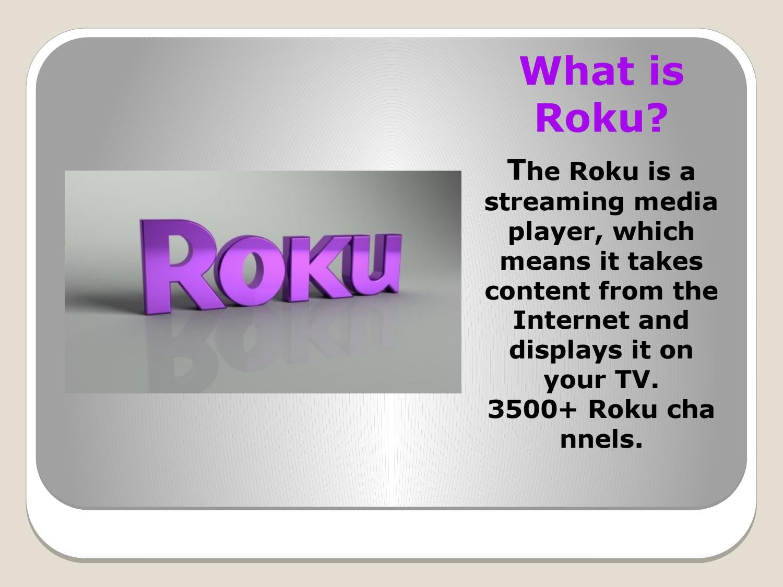 Open roku.com/link to enter Roku code. by Activate Roku - issuu