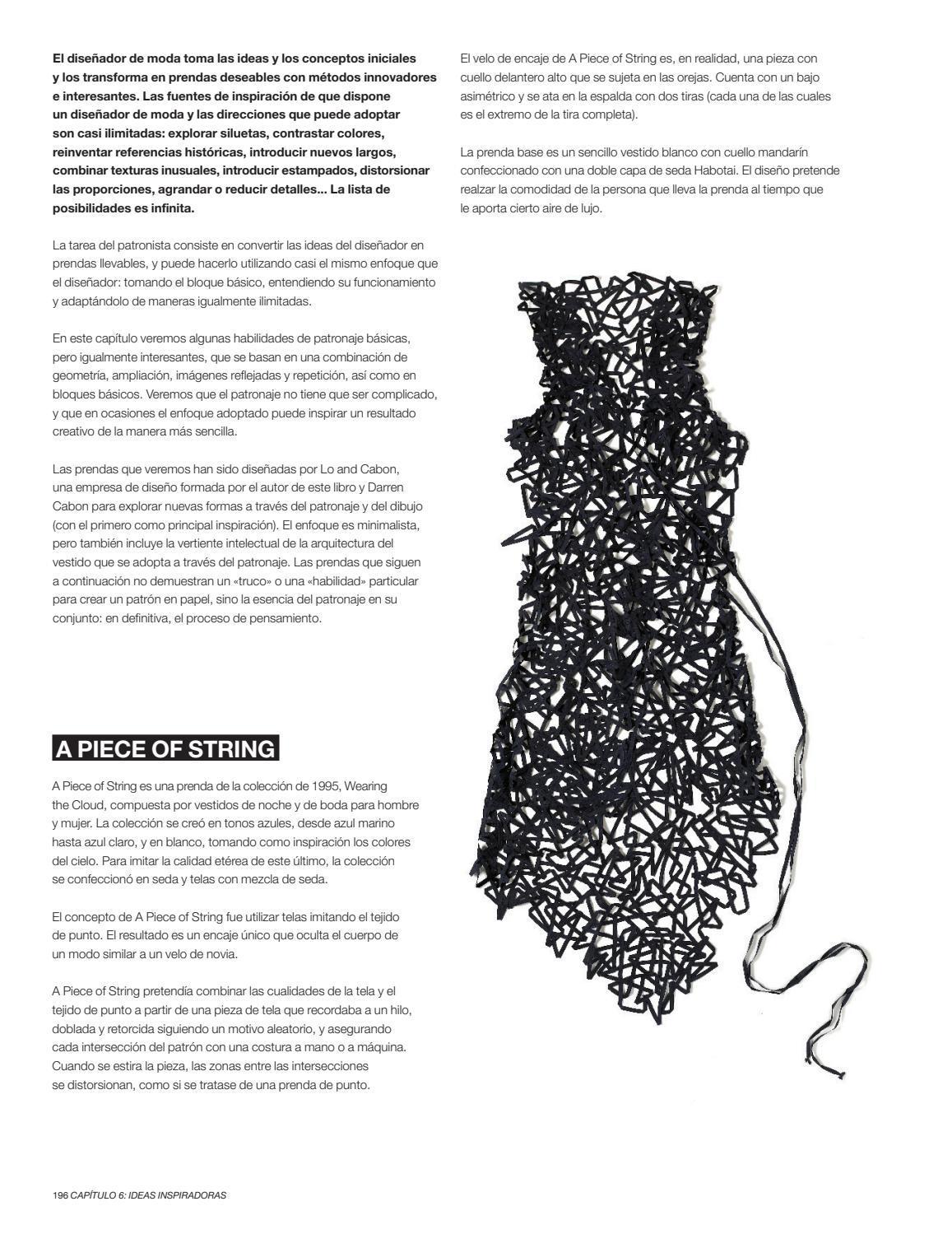 Patronaje By Editorial Blume Issuu