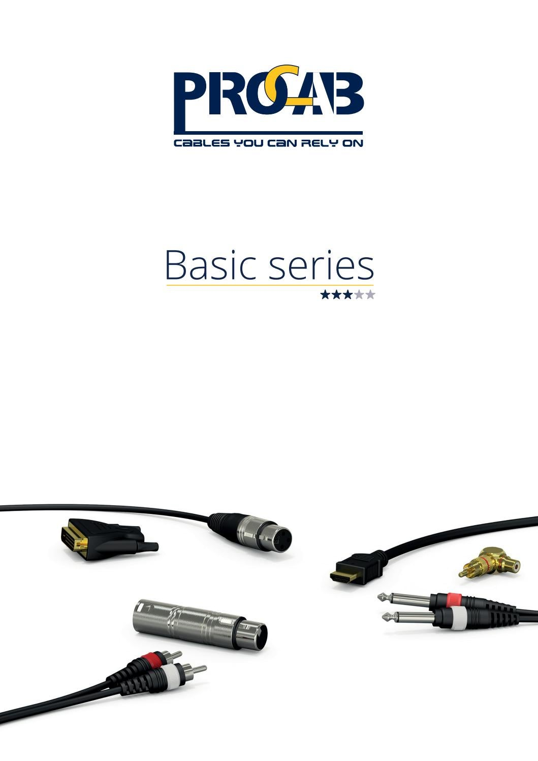Procab Classic 2 x RCA Female to 2 x RCA Female Adapter