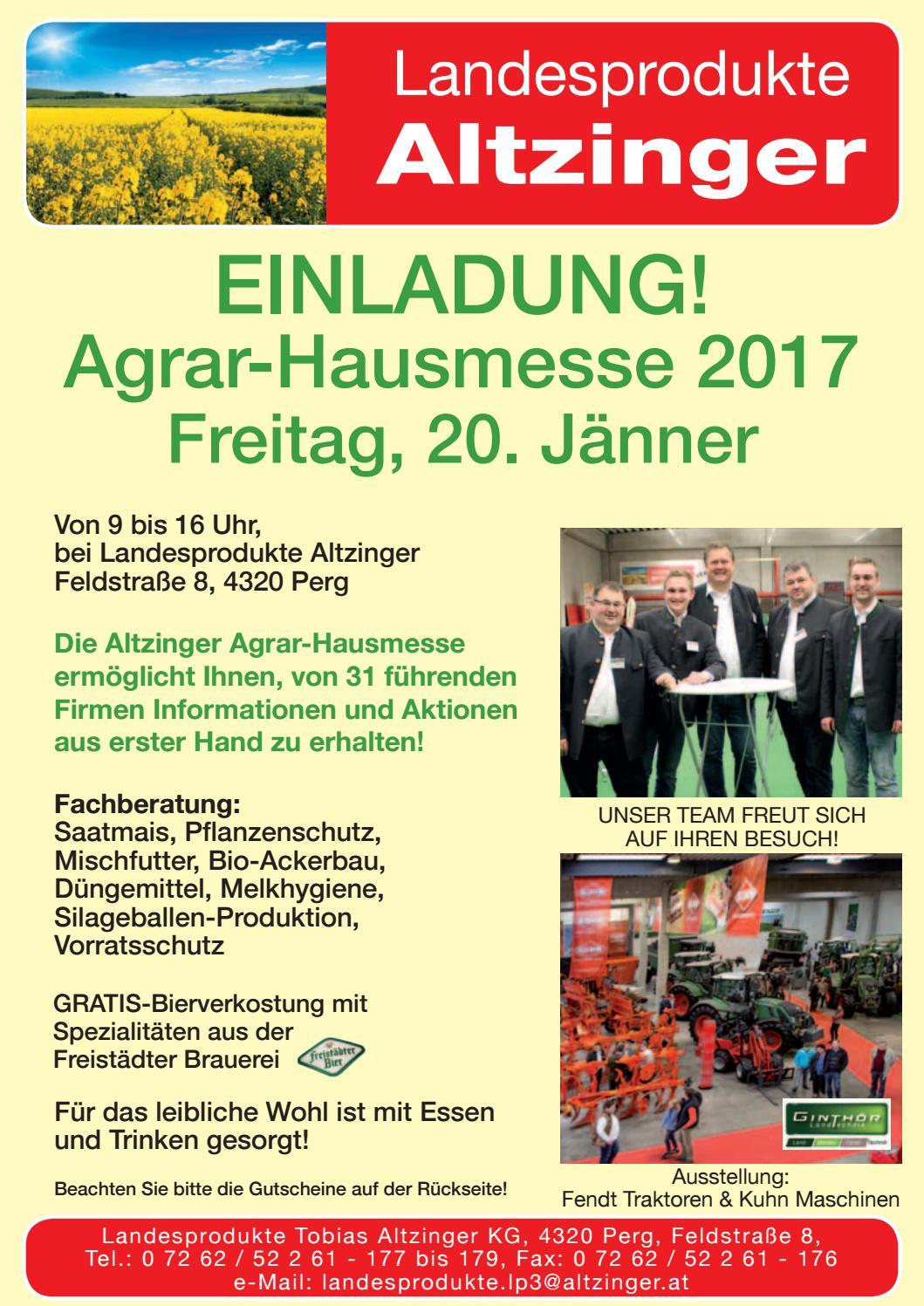 altzinger einladung - agrartag 2017 by busta + neumayr og - issuu, Einladung