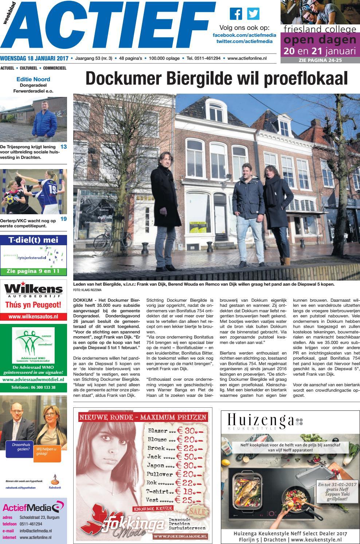 a2f82296ac68cf Weekblad Actief - Editie Noord - week 03 2017 by Weekblad Actief - issuu