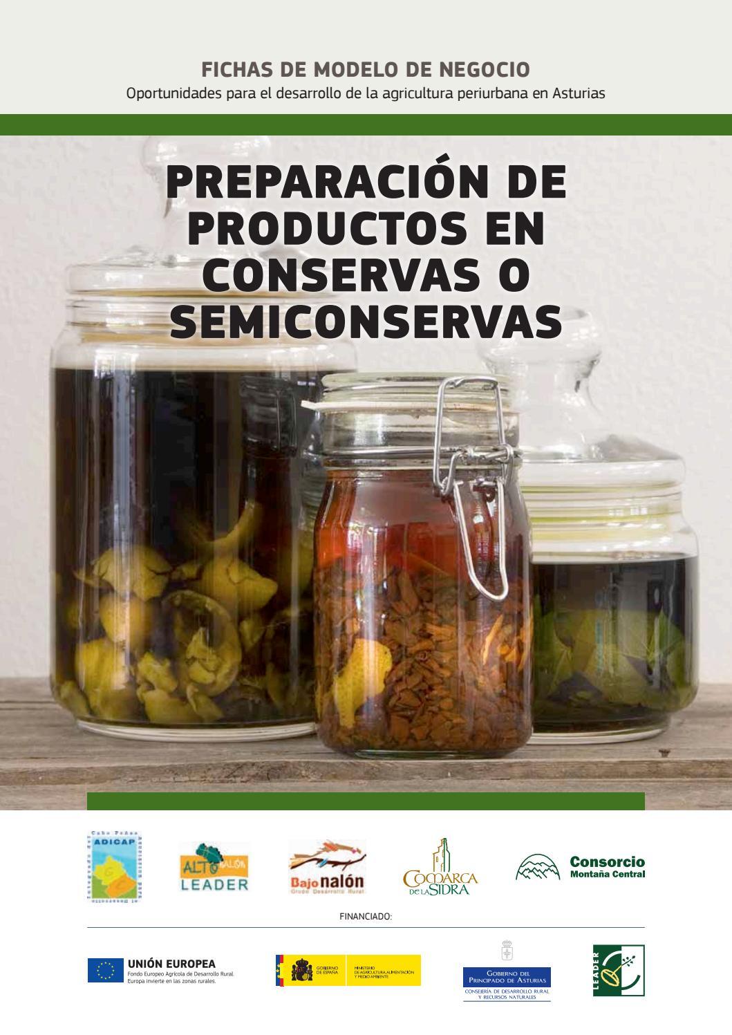 Preparación de productos en conservas o semiconservas by Alto ...