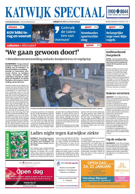 Ks week 03 17 by Uitgeverij Verhagen - issuu