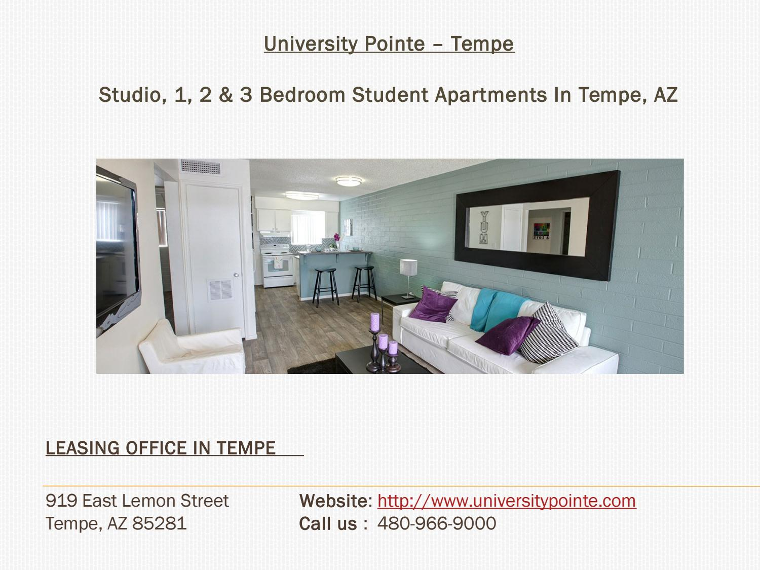 University pointe apartments in tempe az near asu by university pointe issuu 1 bedroom apartments tempe