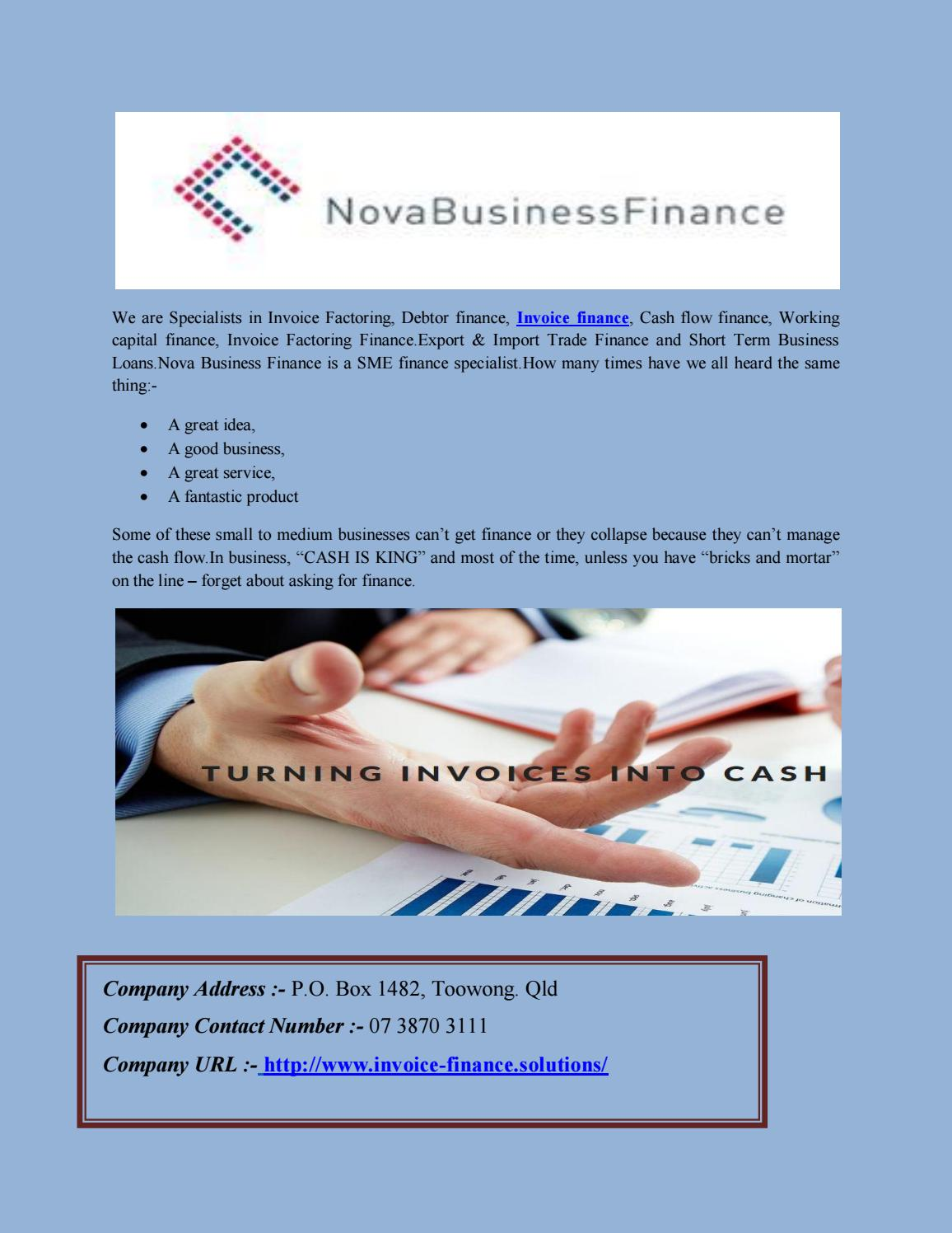 Invoice Finance And Factoring Services By Oil And Gas Pages Issuu - Is invoice factoring a good idea