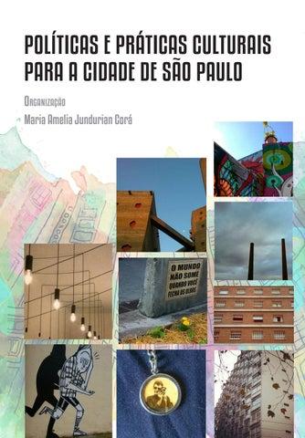 Políticas e práticas culturais para cidade São Paulo by Americo ... 8d7a2ca3fa6