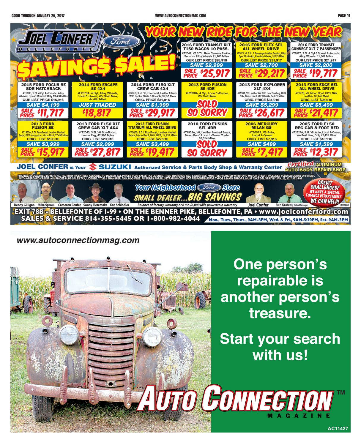01-26-17 Auto Connection Magazine by Auto Connection