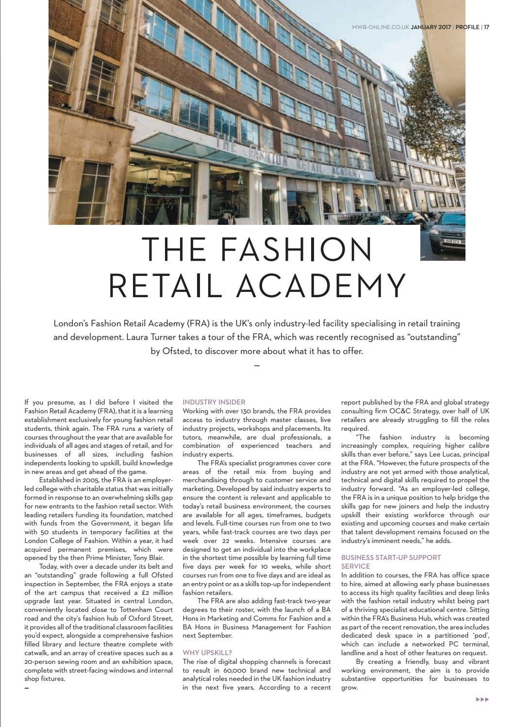 Discussion on this topic: Fashion Retail Academy rated outstanding' by Ofsted, fashion-retail-academy-rated-outstanding-by-ofsted/