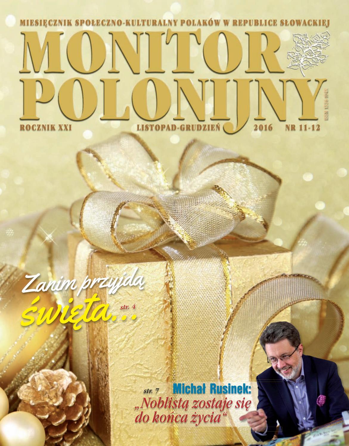 Monitor Polonijny 201611 12 By Monitor Polonijny Issuu