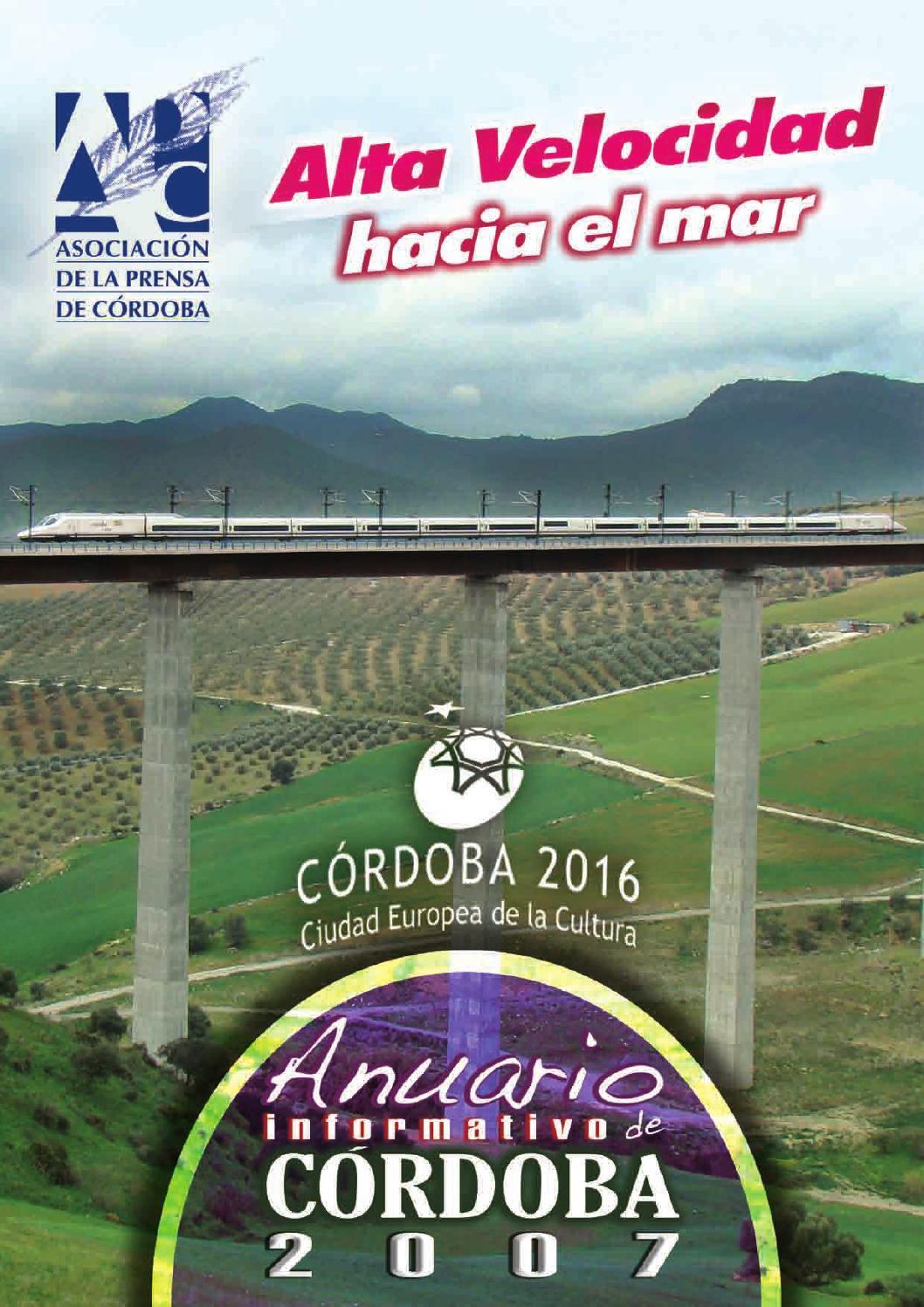 Anuario Informativo de Córdoba 2007 by Asprencor - issuu 881b22531f942