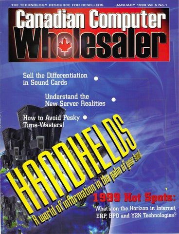 1999 01 canadian computer wholesaler by The Computer Paper