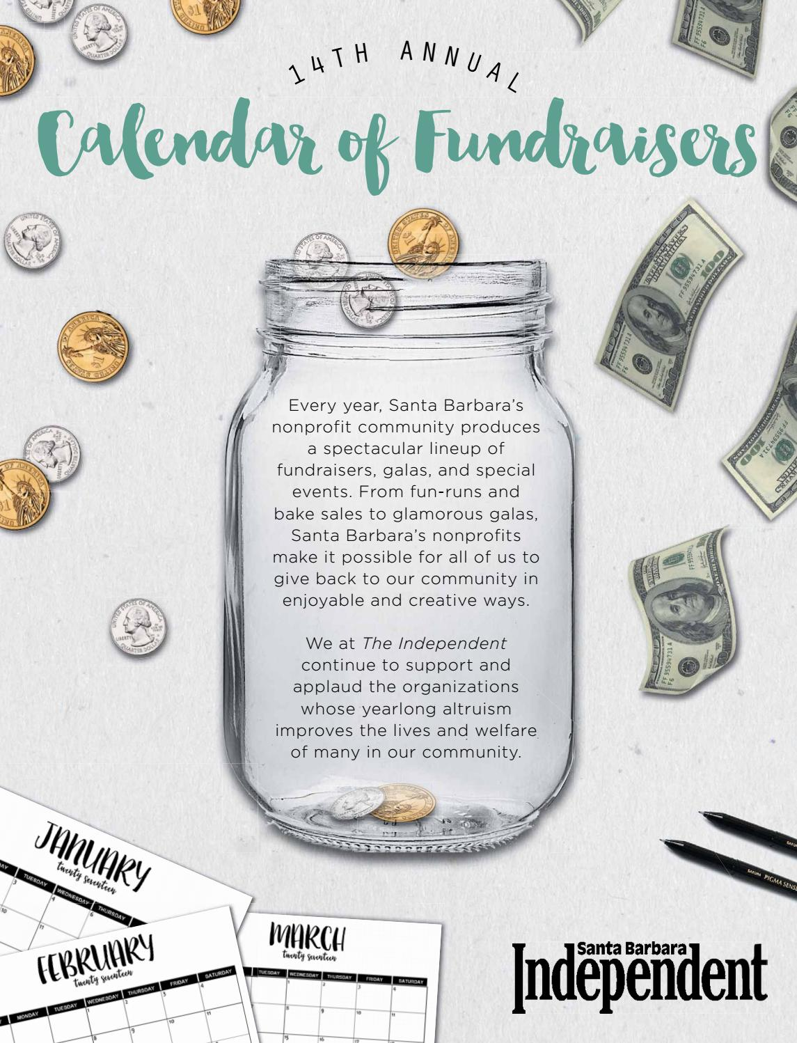Santa Barbara Independent, Calendar of Fundraisers 2017, 01/19/19 by ...