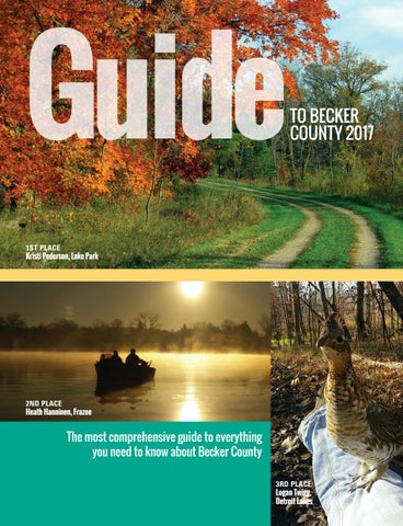 Guide to Becker County 2017 by Detroit Lakes Newspapers - issuu