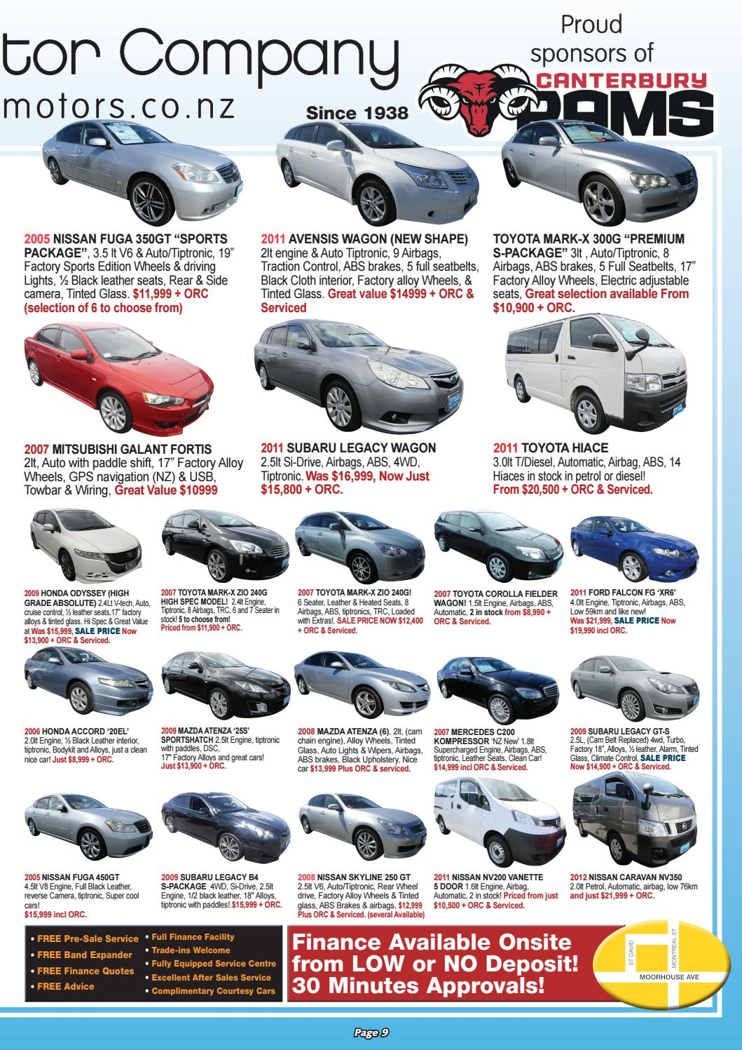 Best Motorbuys 20 01 17 By Local Newspapers Issuu 2006 Honda Accord Dome Light Wiring