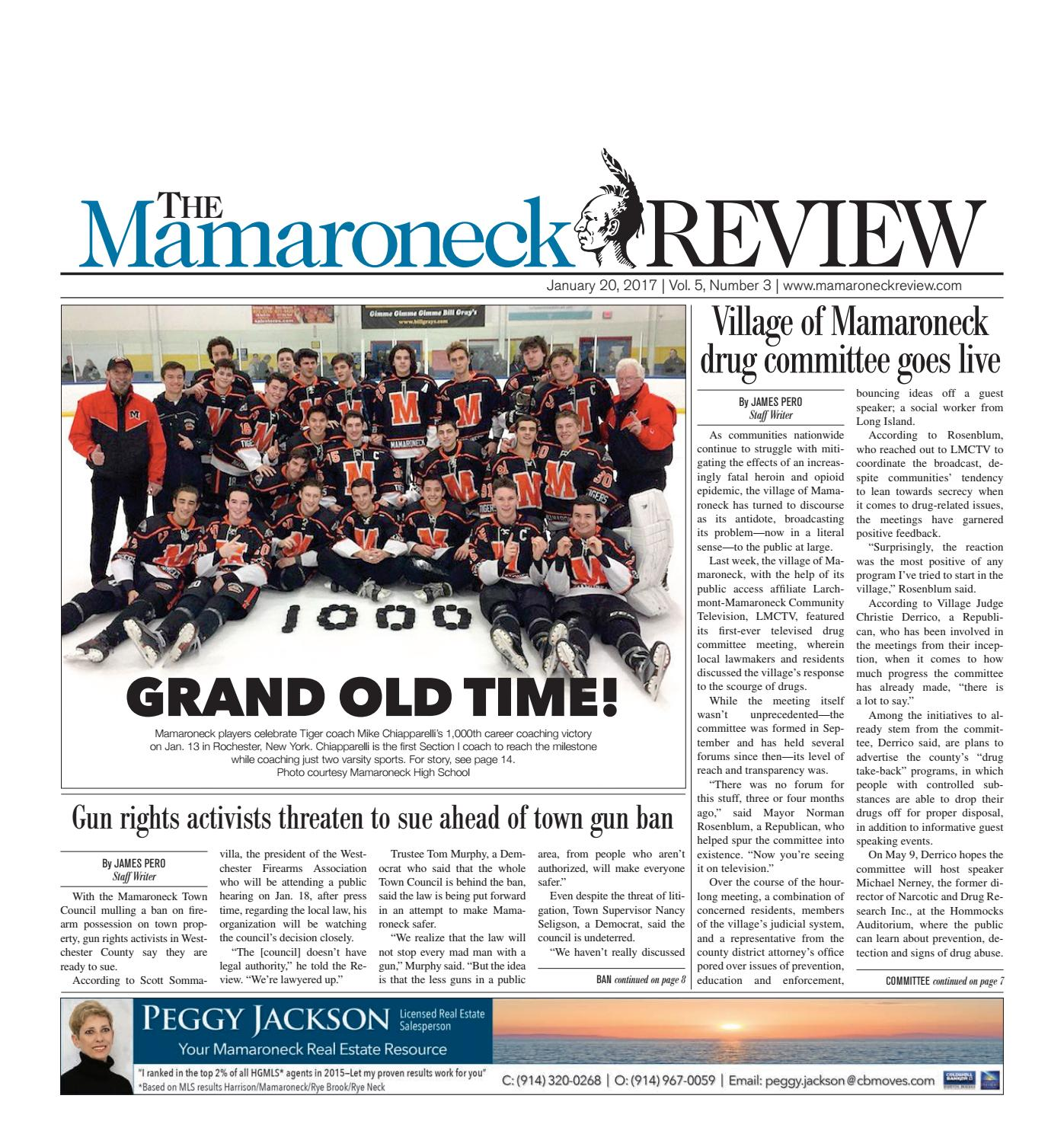 January 20, 2017 by The Mamaroneck Review - issuu