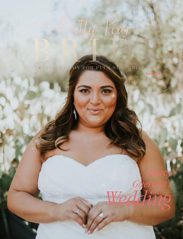 pretty pear bride inspiration for plus size brides