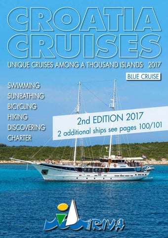 Croatia Cruises 2017 by I D  Riva Tours - issuu