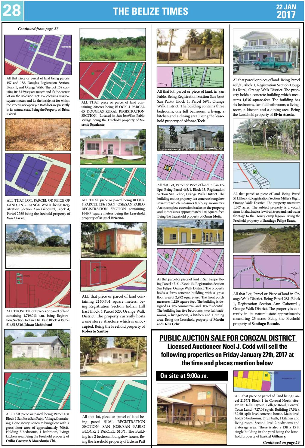 Belize Times January 22 2017 By Belize Times Press Issuu