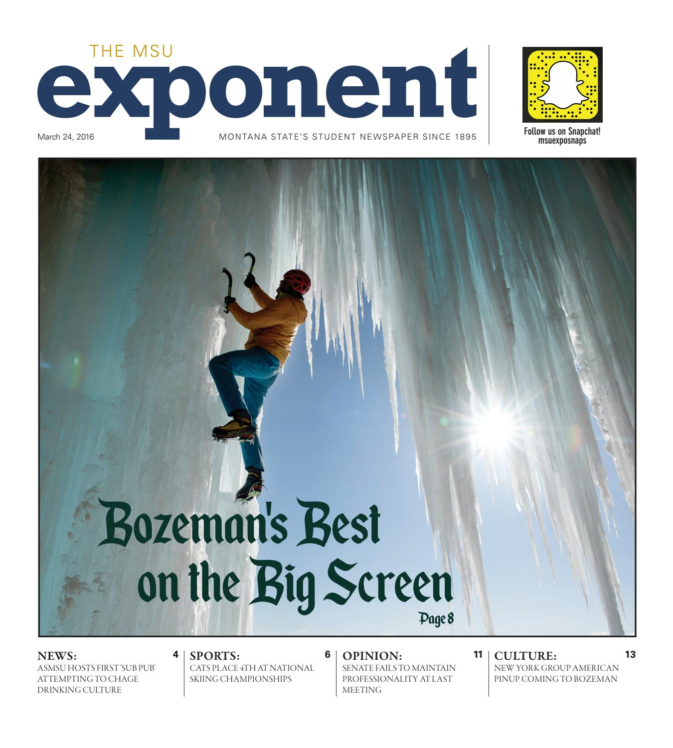 MSU Exponent 03/24/2016 Edition by The MSU Exponent - issuu
