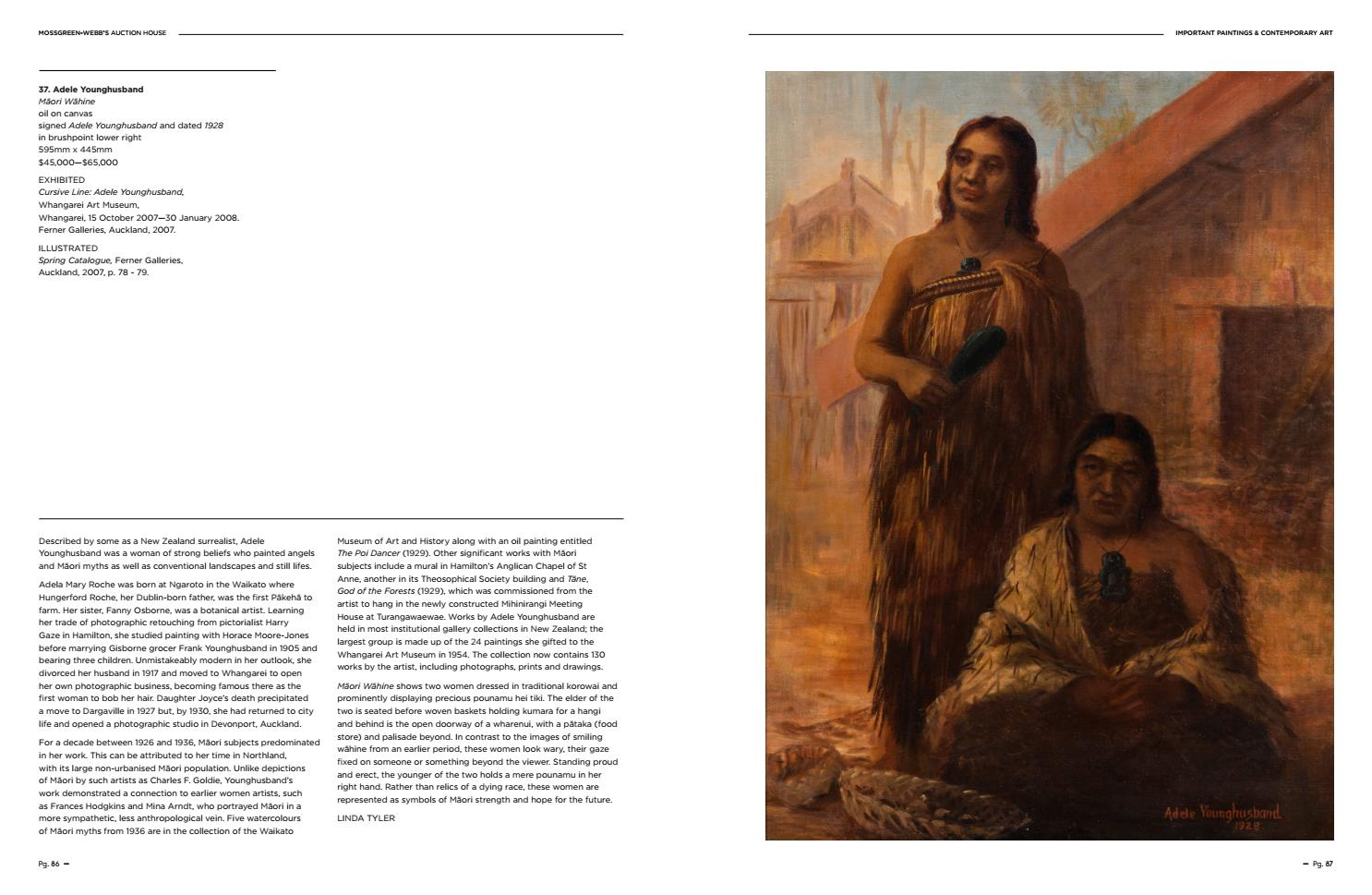 Important Paintings Contemporary Art By Webb S Auction House Issuu