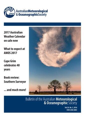 Australian amateur meterological observation
