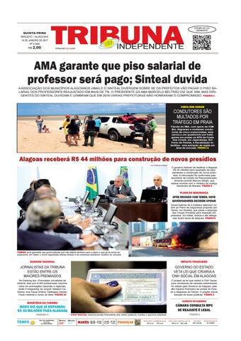 639337e01f5 Edição número 2820 - 19 de janeiro de 2017 by Tribuna Hoje - issuu