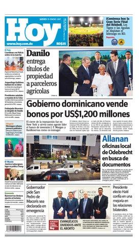 buy online c17fe d509b Edición impresa hoy jueves 19 de enero 2017 by Periodico Hoy - issuu