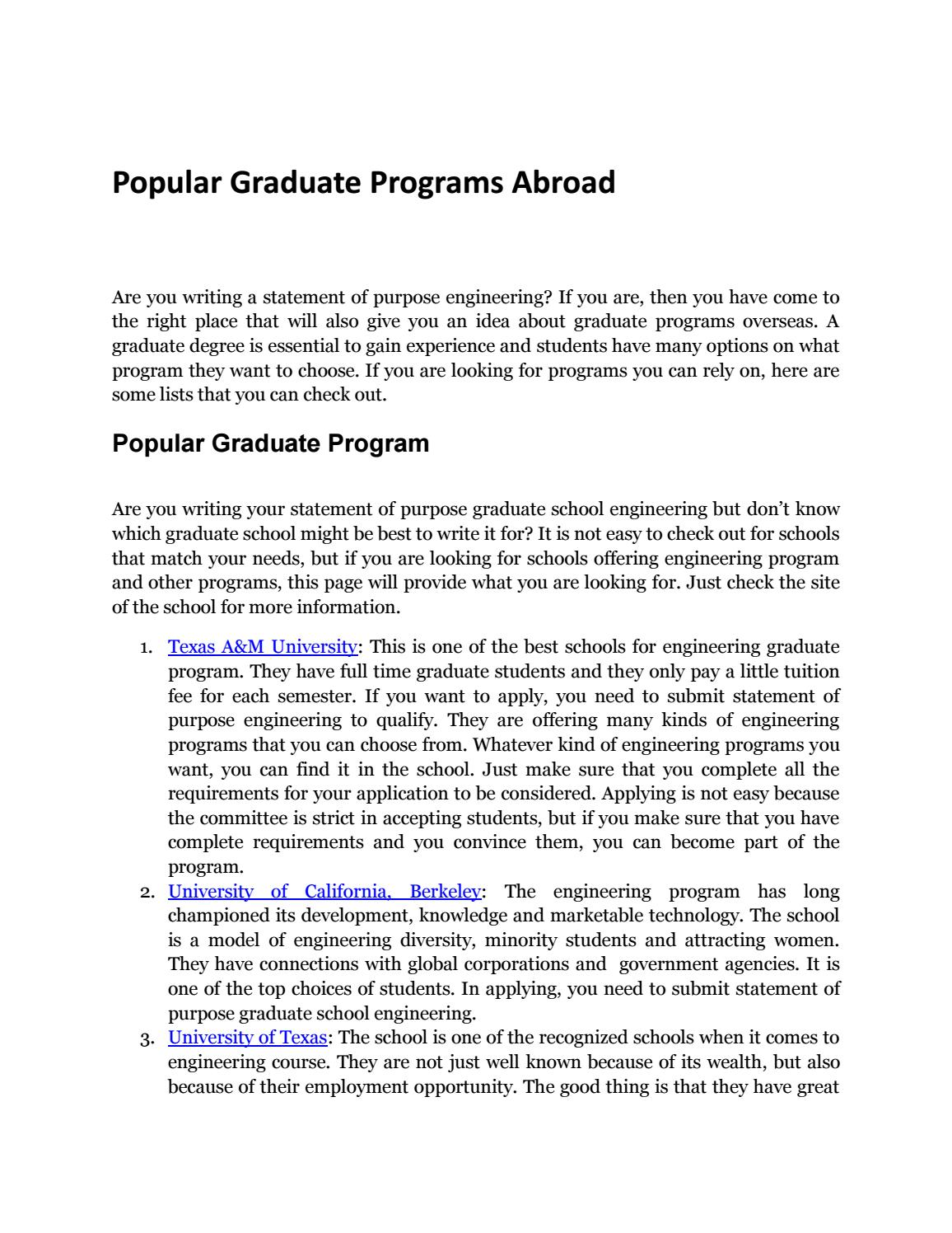 Masters in Software Engineering