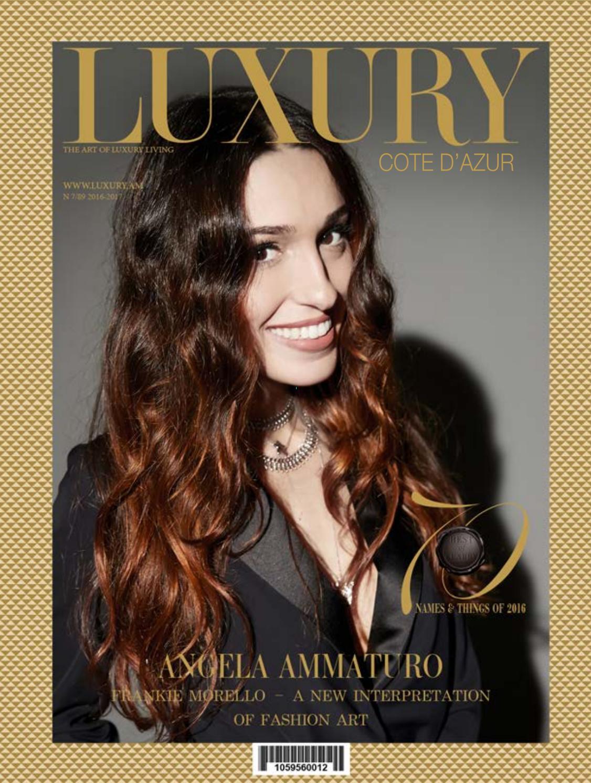 ANGELA AMMATURO by <b>Luxury</b> Magazine - issuu
