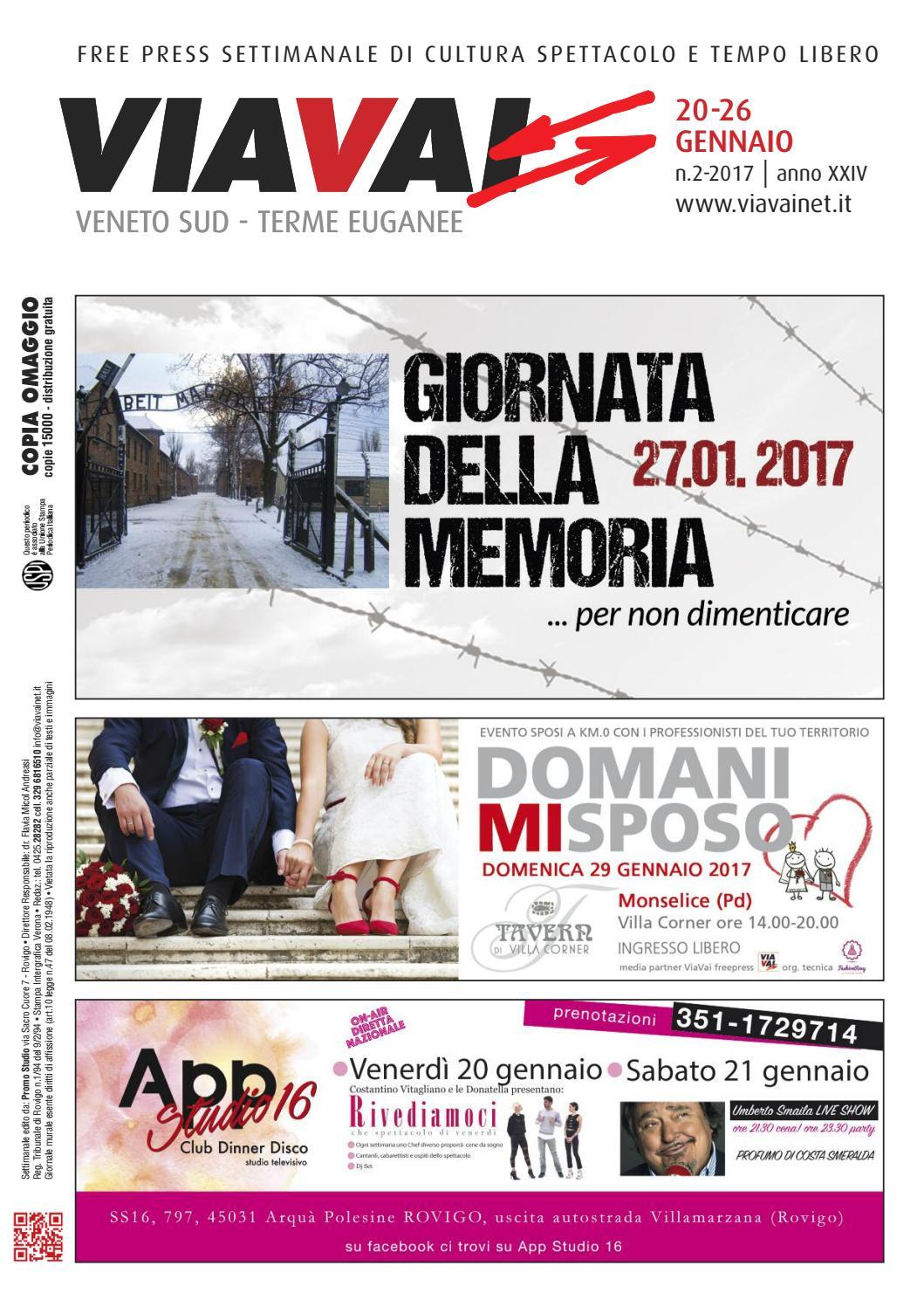 2ee566e3841b viavai 20 gennaio 2017 by Via Vai Veneto Sud - Terme Euganee - issuu