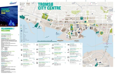 Tromso City Map By Nordnorsk Reiseliv Issuu