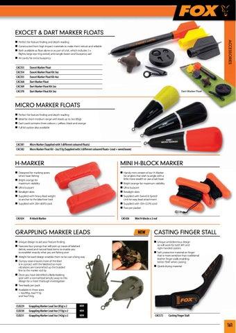 Fishing Fox Mini H-Blocks Markers Accessories