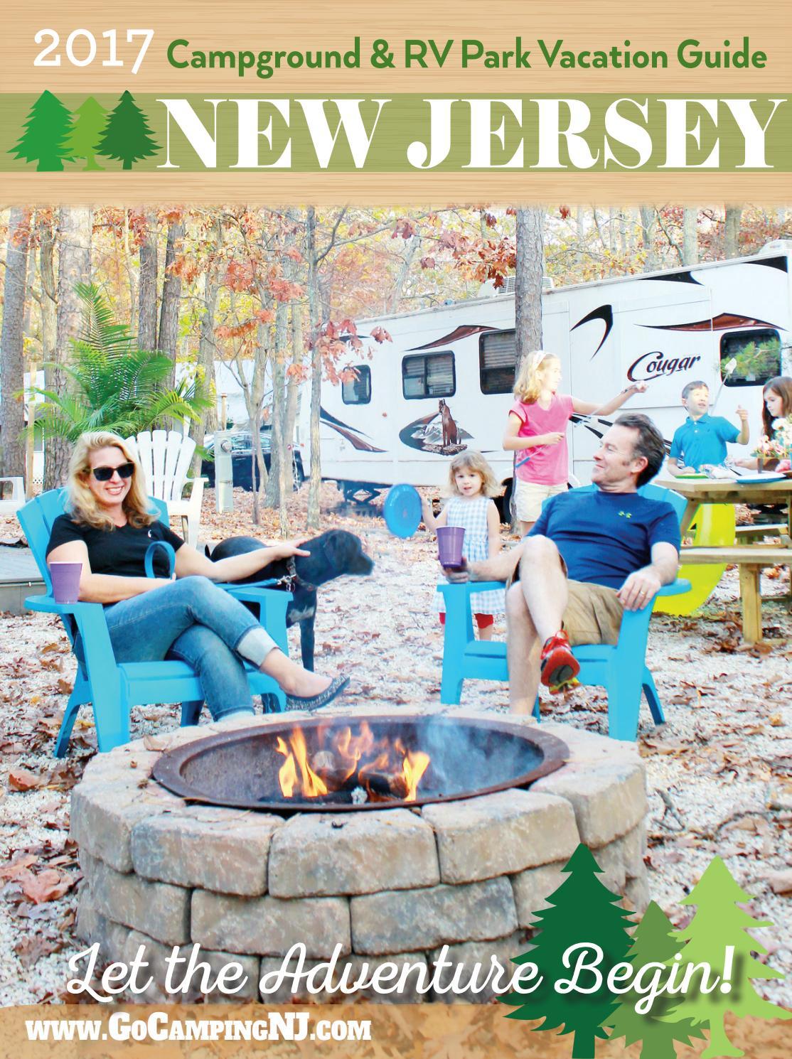 2017 nj campground u0026 rv park vacation guide by dickinson digital